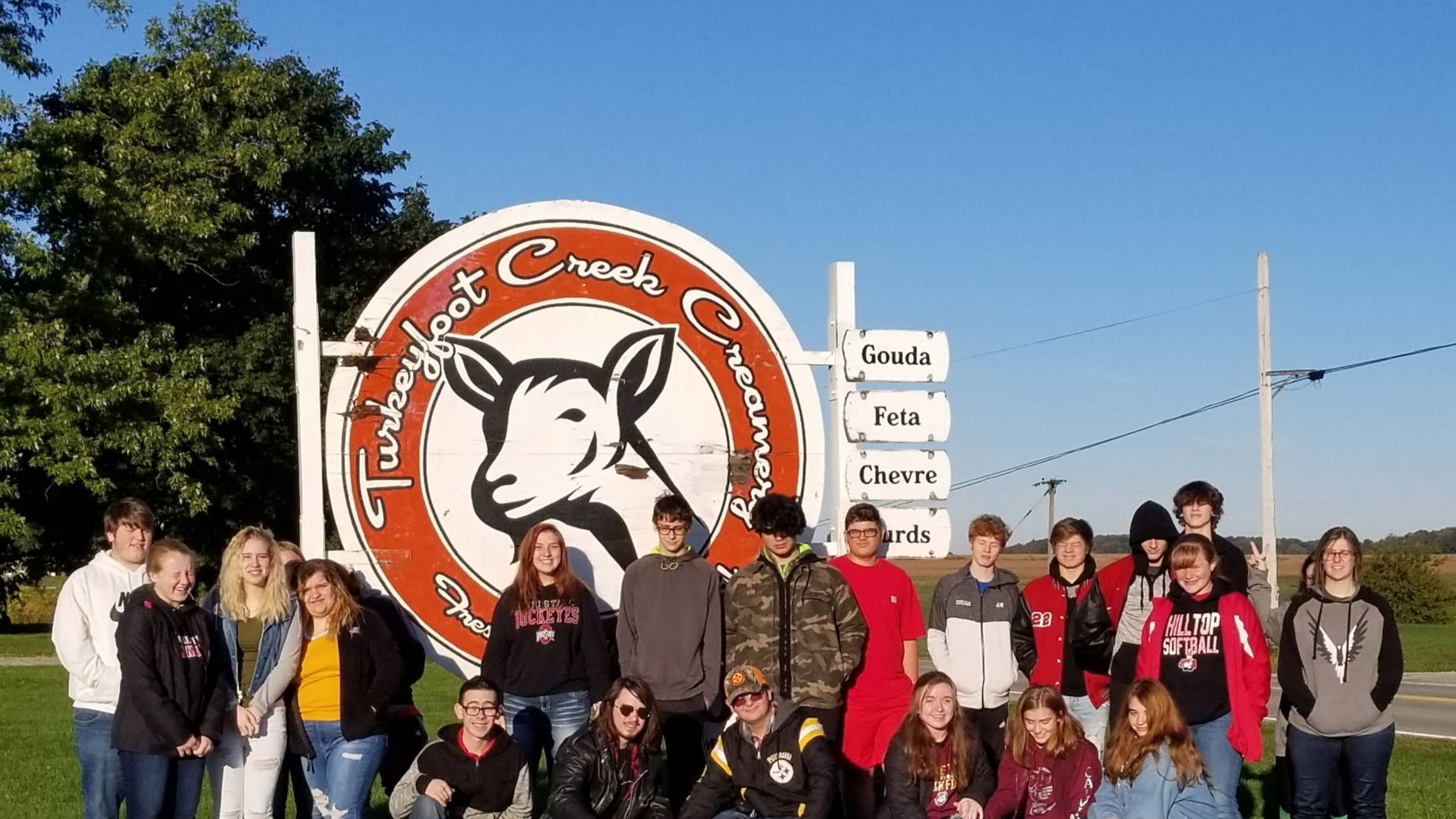 Field Trip to Turkeyfoot Creamery