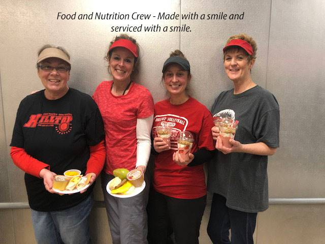Food and Nutrition Crew Made with a smile and served with a smile