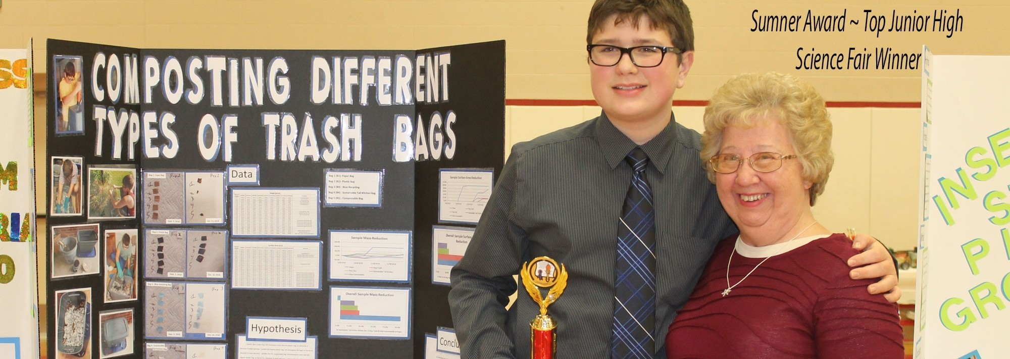 Top Junior High Science Fair Award