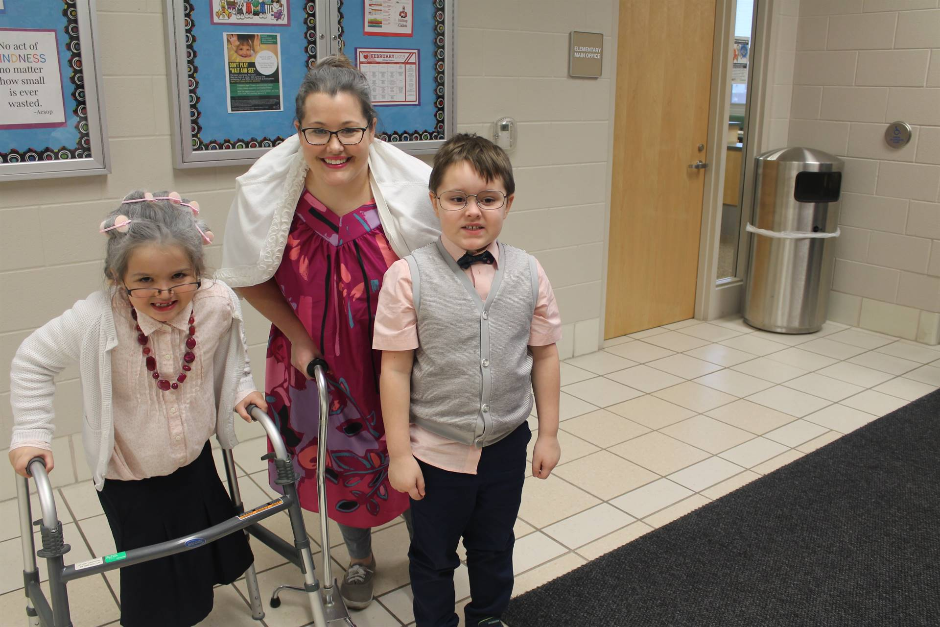 100th day celebration in the Kindergarten