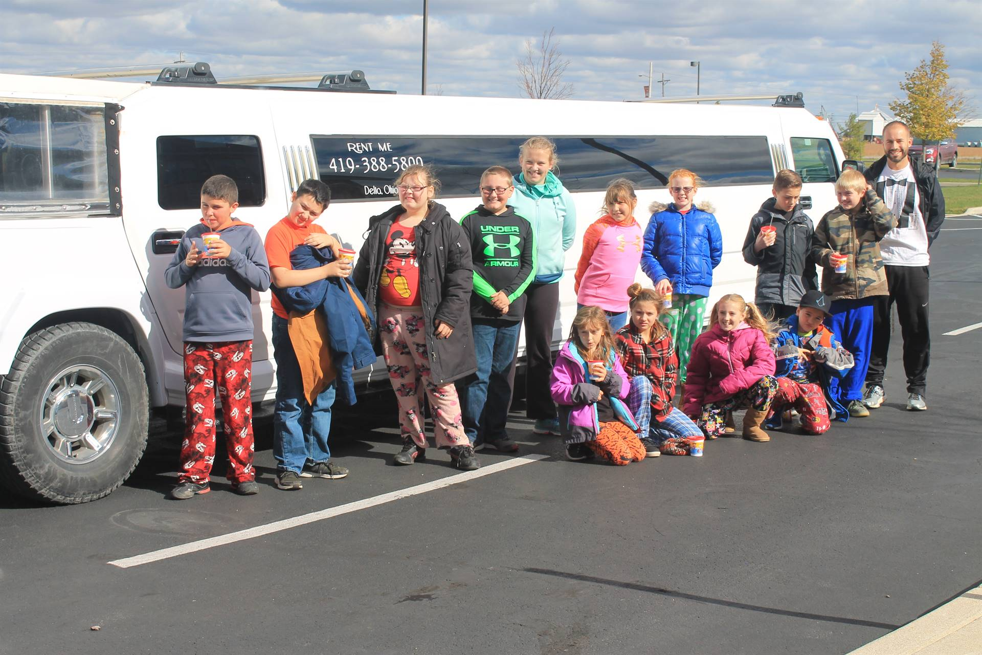 Elementary Fundraiser Limo Ride