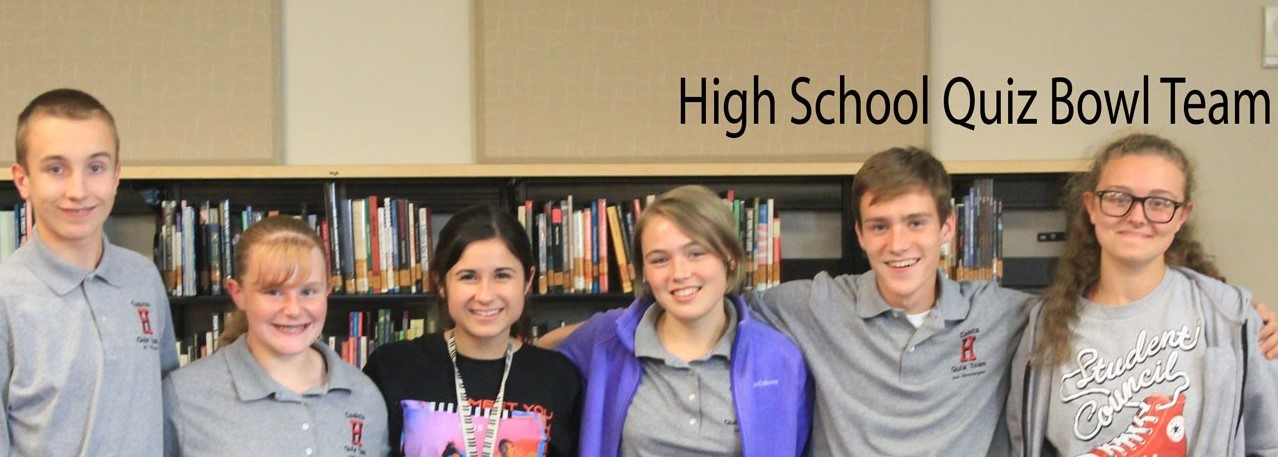 High School Quiz Bowl Team