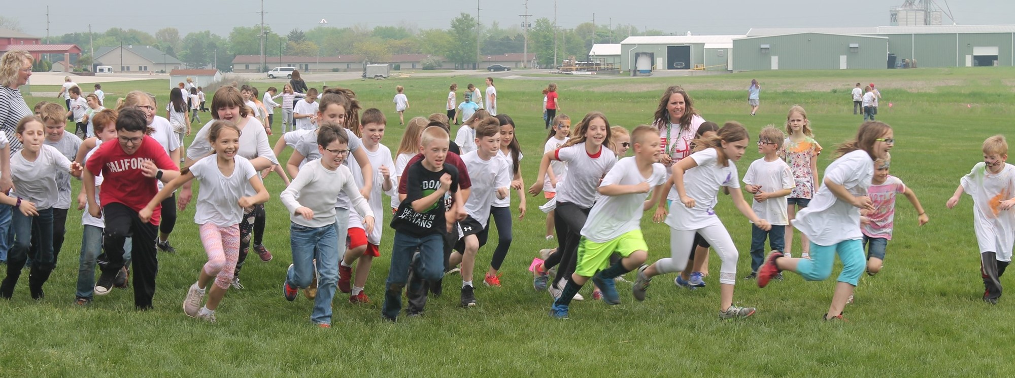 Color Run in the Elementary