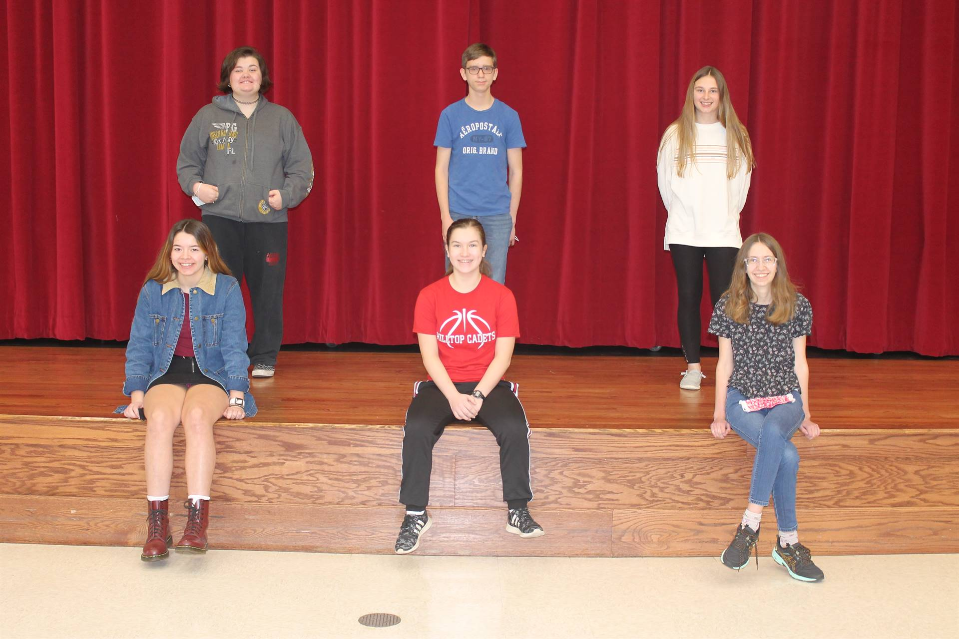 Freshmen and Sophomore Students of the Month for November