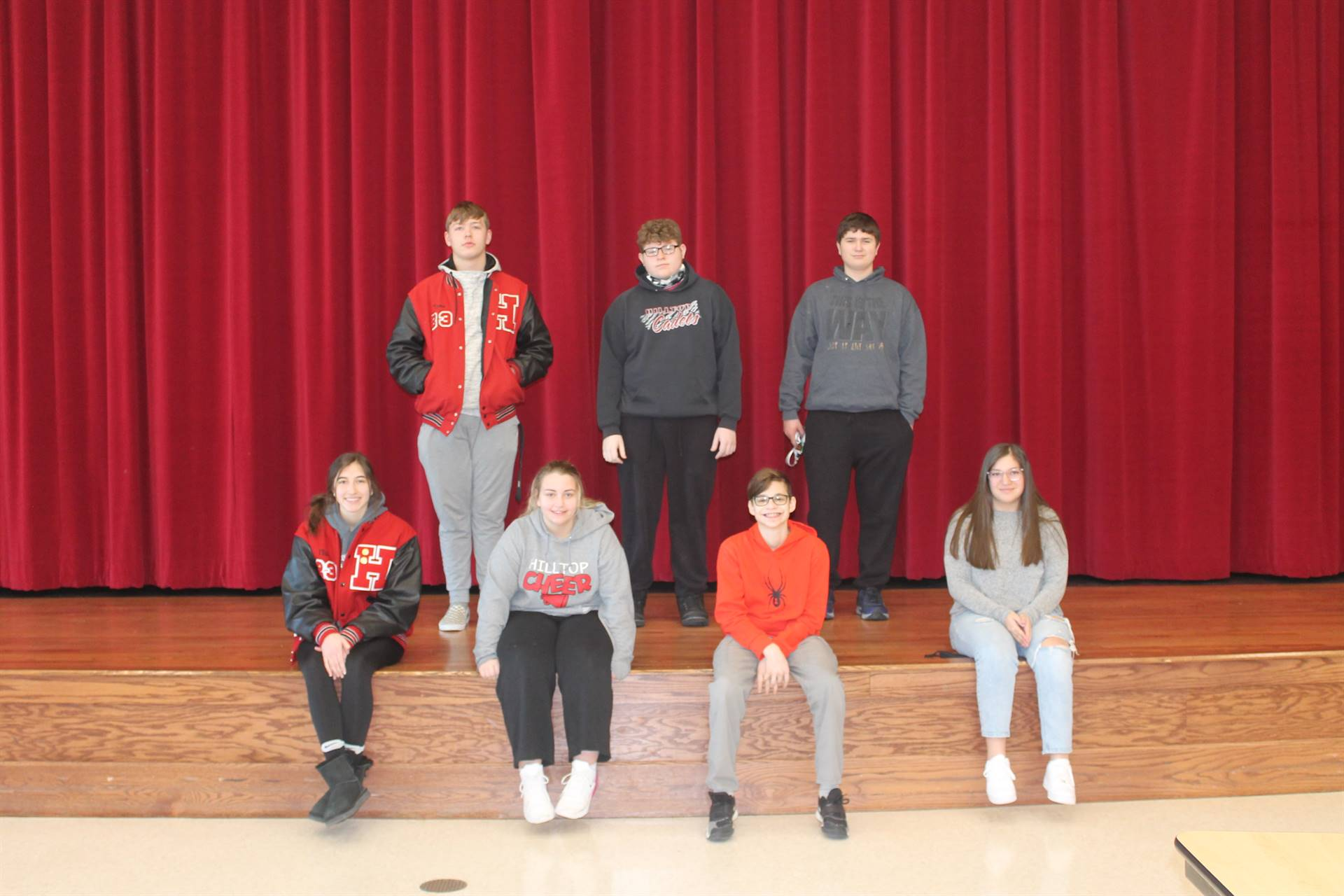 Freshmen and Sophomore Students of the Month for January